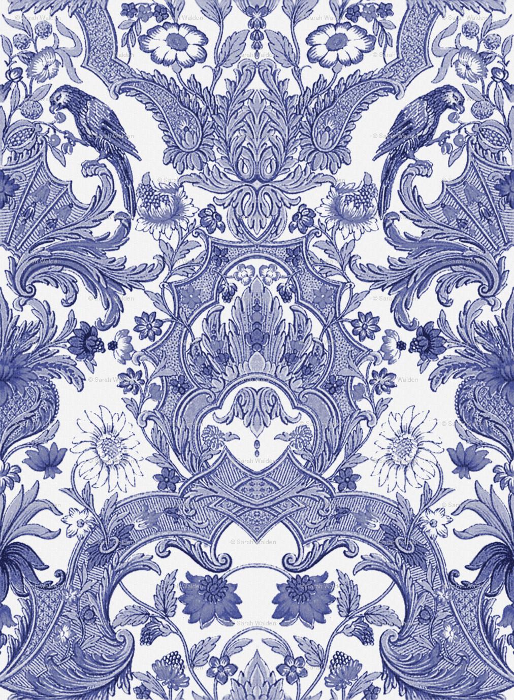 Go Back Images For Vintage Bird Wallpaper Pattern 1012x1379