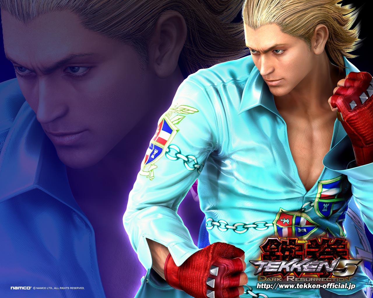 Free Download Steve Fox Tekken 5 Dark Resurrection 1280x1024 For