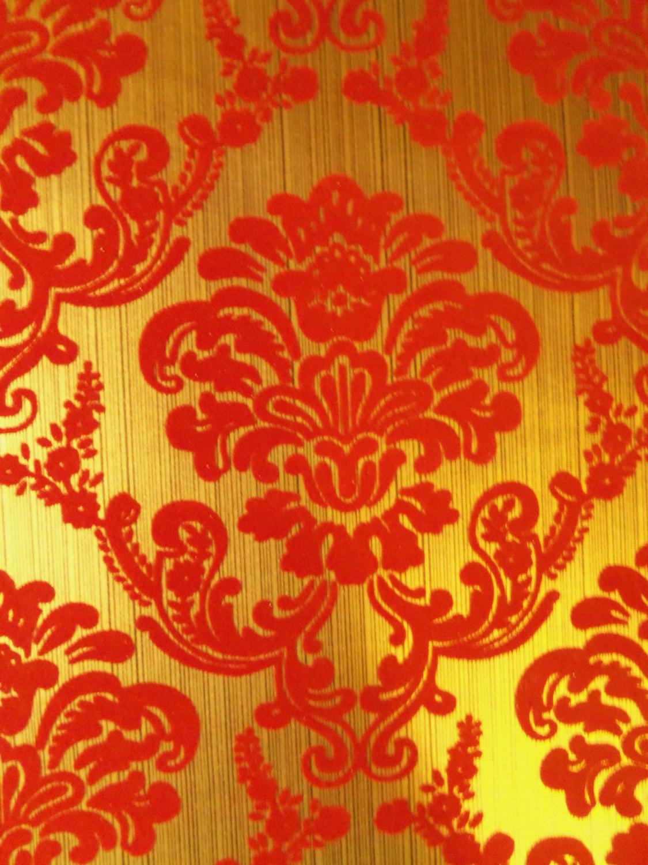 Red Foil Wallpaper Wallpapersafari