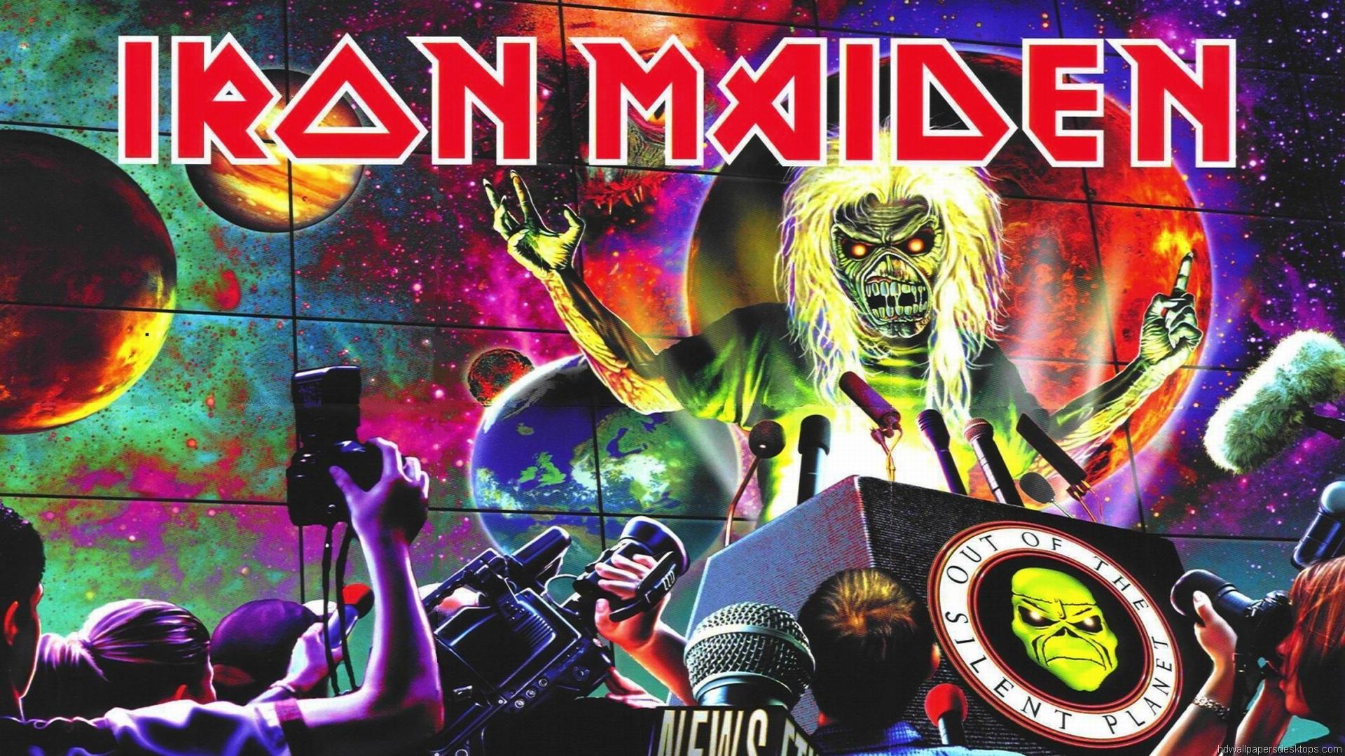 Iron Maiden Wallpaper HD Background 1920x1080