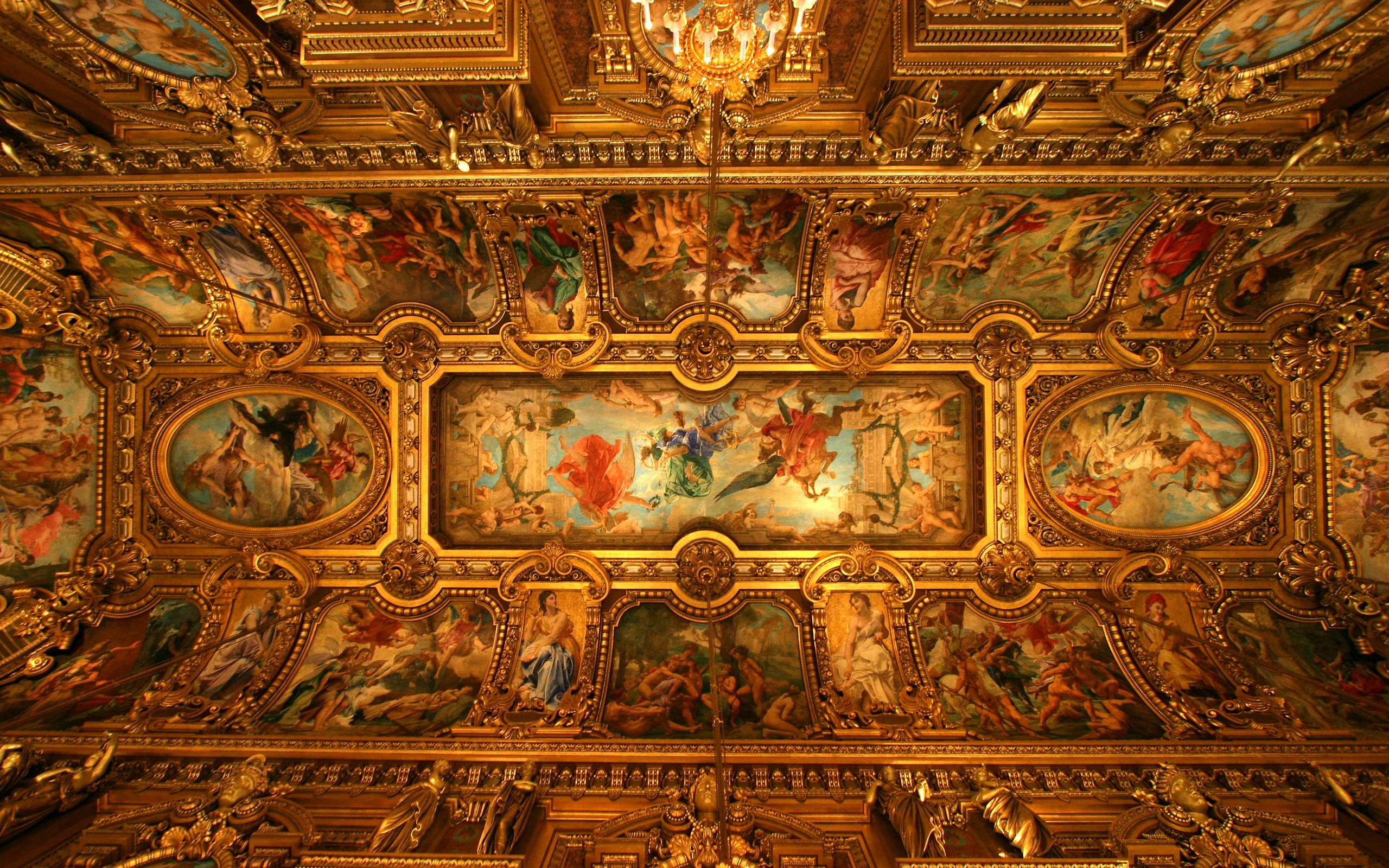 Sistine Chapel Ceiling HD Wallpaper Background Images 2560x1600