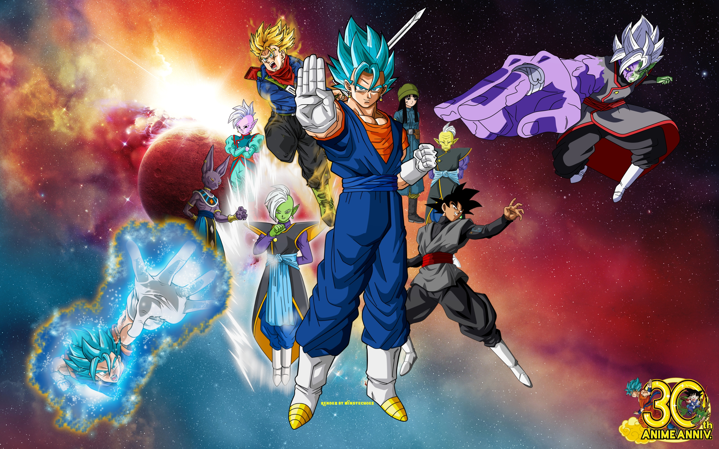 6 Supreme Kai Dragon Ball HD Wallpapers Background Images 2880x1800