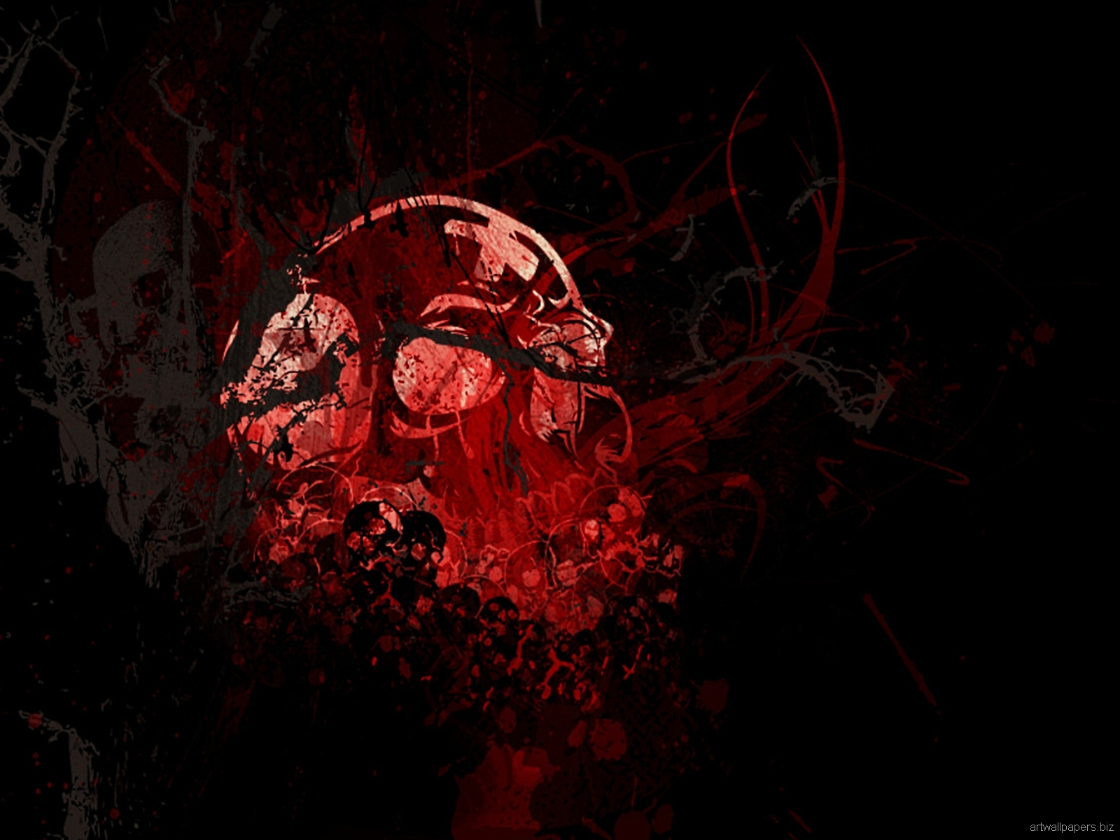 Skull Wallpapers Skull Art Wallpapers Skull Desktop Backgrounds 1600x1200
