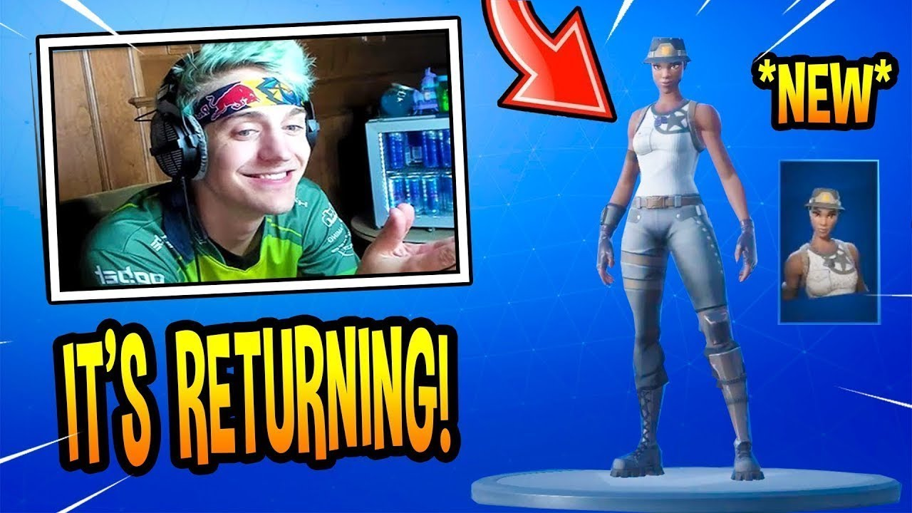 Ninja REACTS To The RECON EXPERT SKIN RETURNING RARE 1280x720