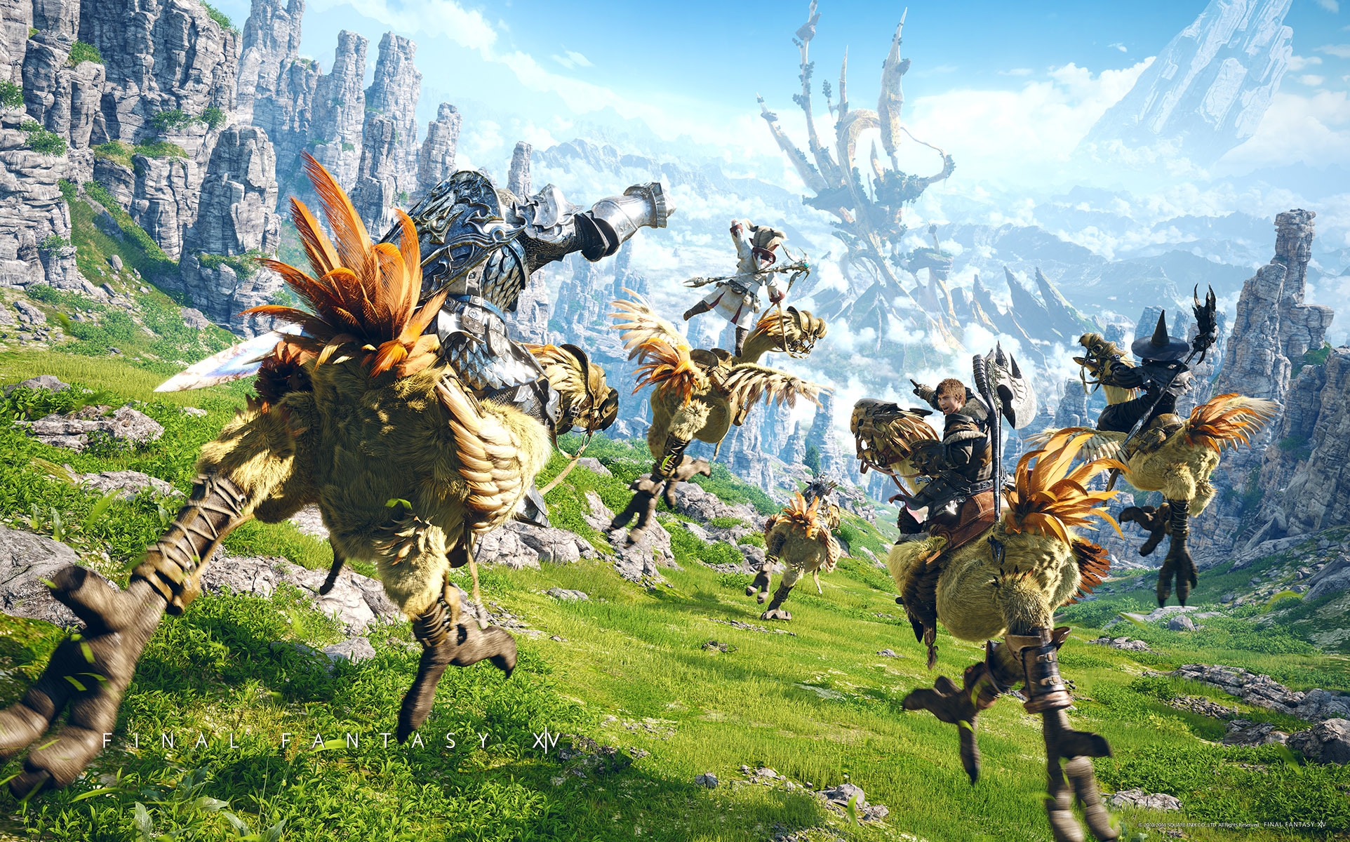 Free download Final Fantasy XIV Wallpapers [1924x1200] for