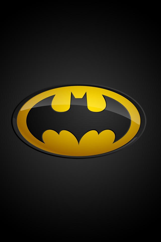 47+ Batman Logo HD Wallpaper on WallpaperSafari