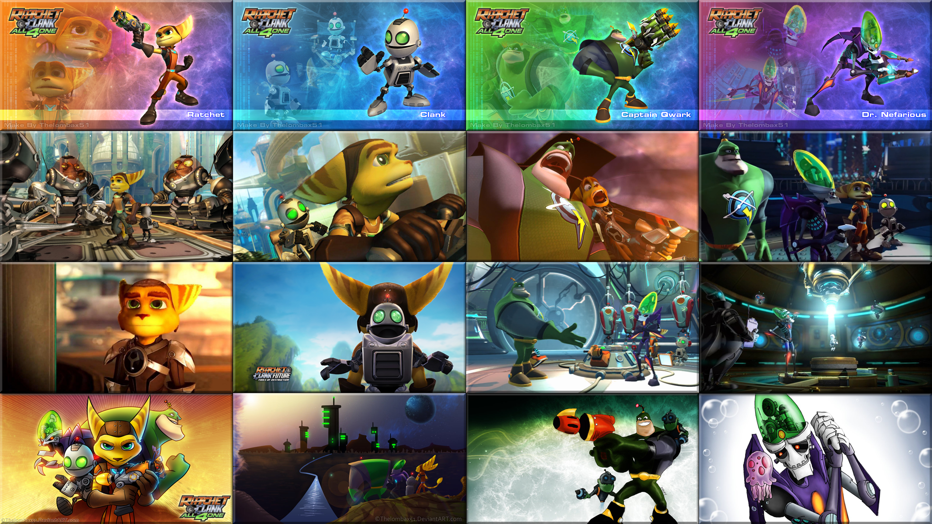 Free Download Ratchet And Clank All 4 One Screenshot 16x By Gt4tube 1920x1080 For Your Desktop Mobile Tablet Explore 49 Ratchet And Clank Wallpaper Hd Ratchet And Clank Wallpapers