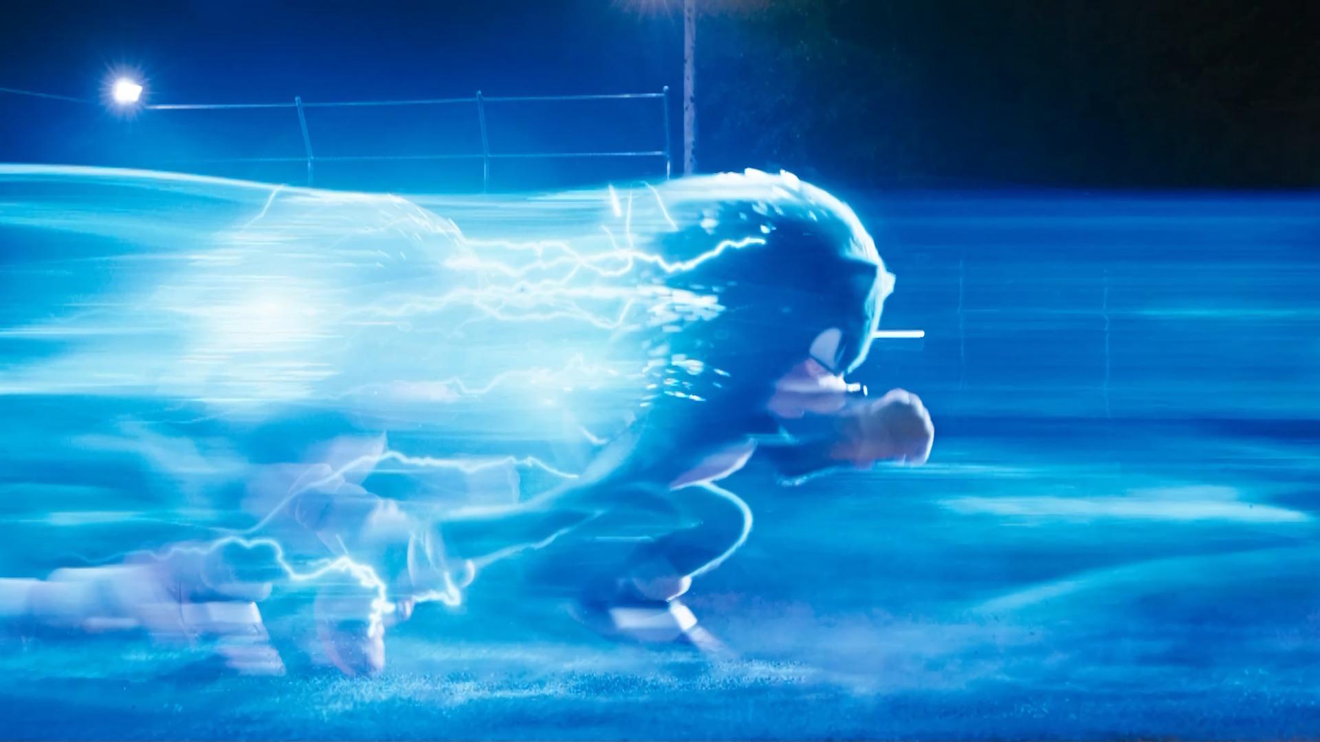 Sonic The Hedgehog Running New Movie 2020 4K Wallpaper 7266 1920x1080