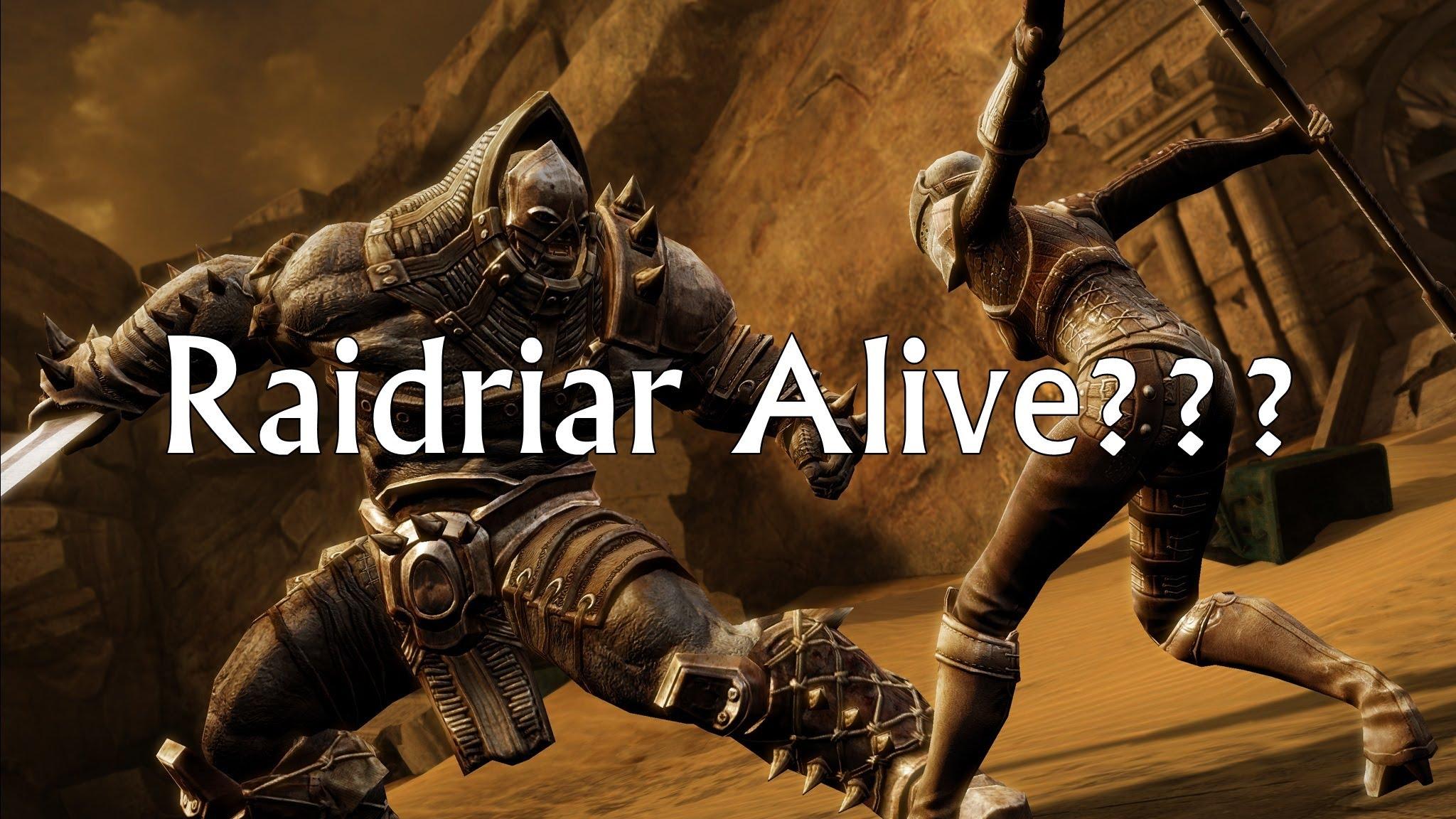Infinity Blade 3 RAIDRIAR ALIVE 2048x1152