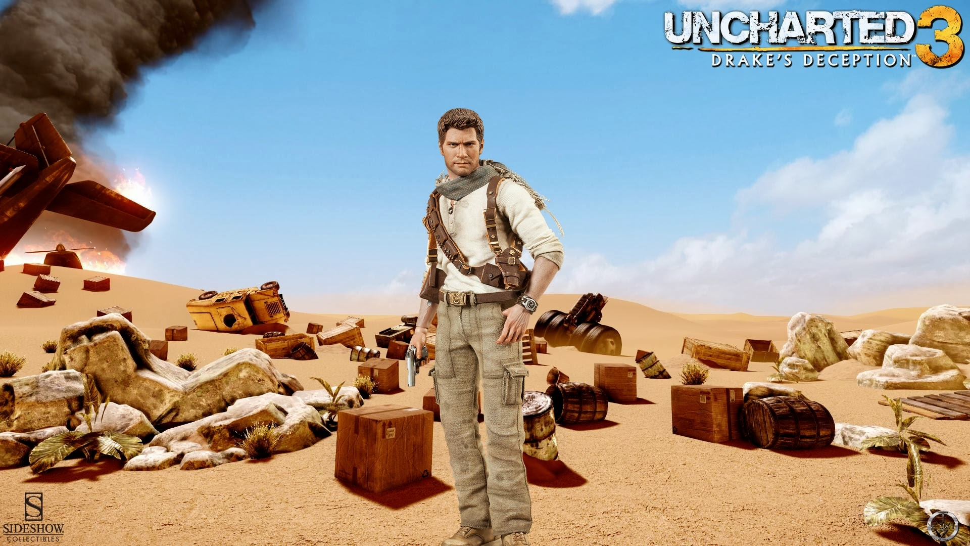 Free Download Nathan Drake Uncharted 3 Sideshow Collectibles Full