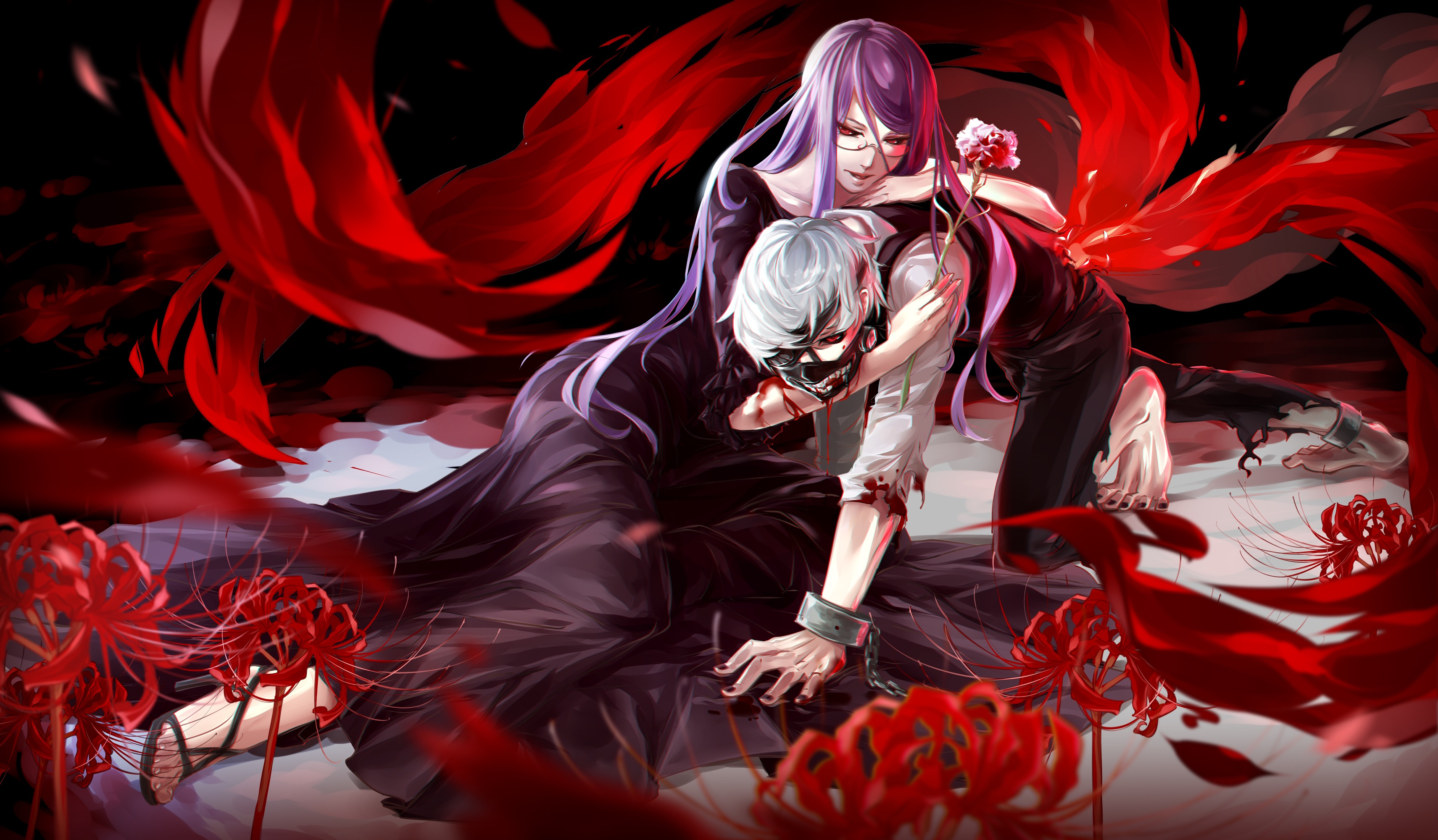 49 Tokyo Ghoul Rize Wallpaper On Wallpapersafari