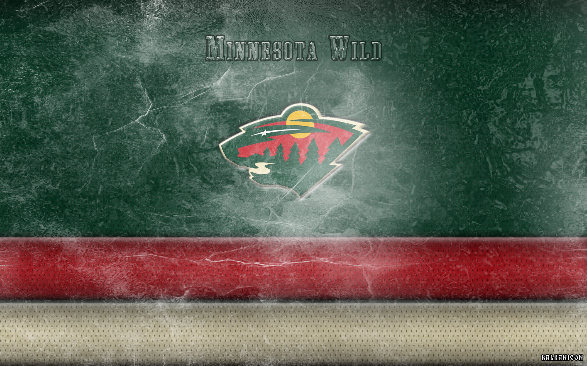 Minnesota Wild wallpaper by Balkanicon 1920x1200