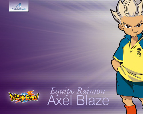Inazuma Eleven images Axel Blaze HD wallpaper and 500x400