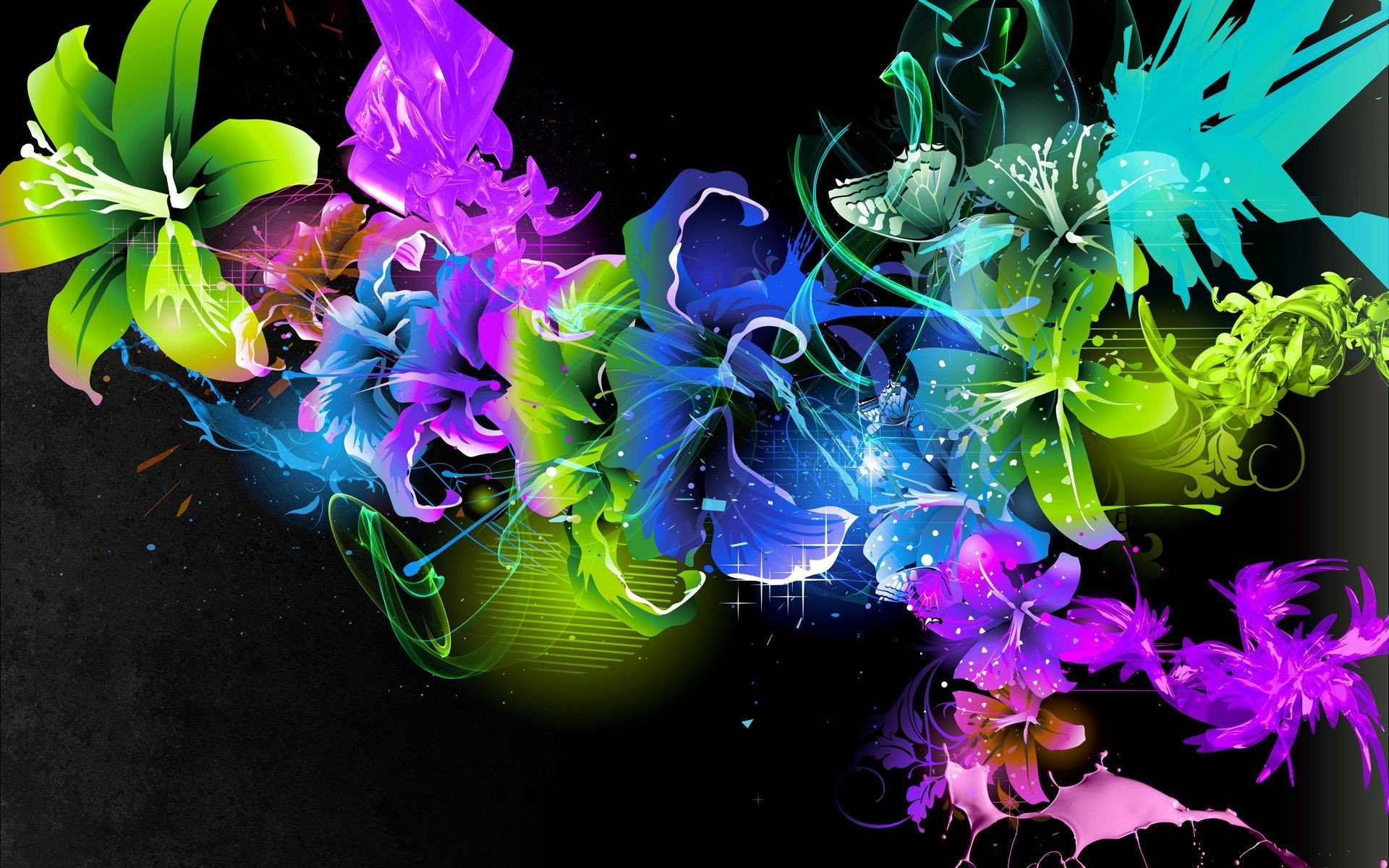 Abstract Color Art Wallpaper HD 1920x1200