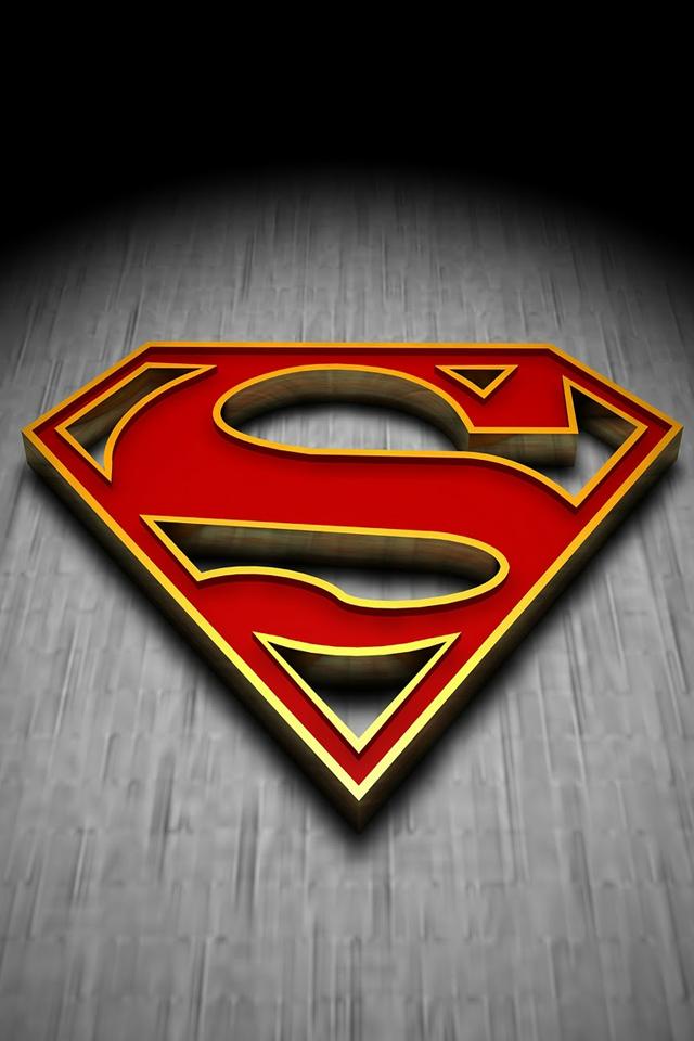Superman WallpaperWe Love Apps iPhone Wallpaper Gallery 640x960