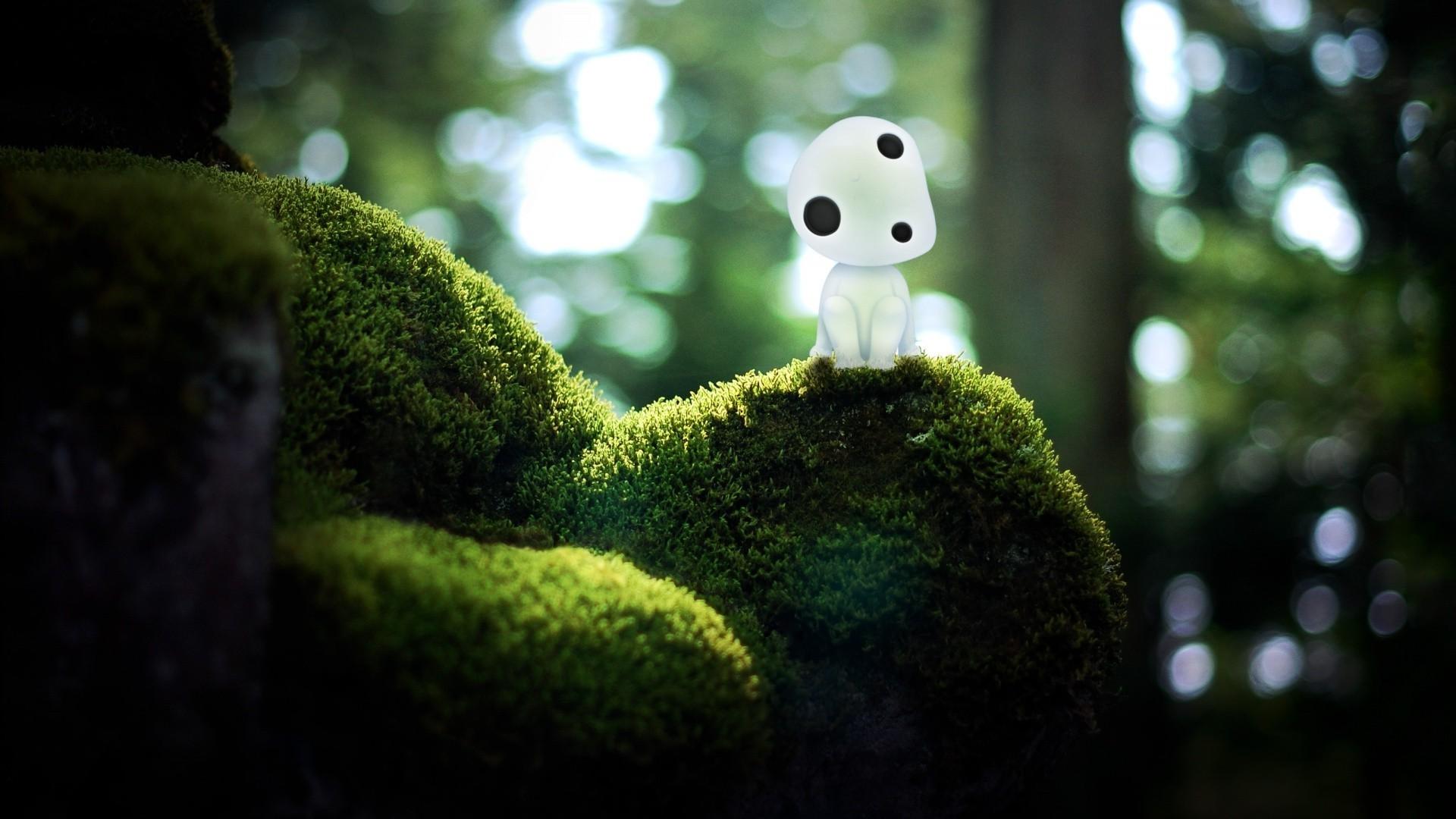 Ghibli Background Kodama 51 images 1920x1080