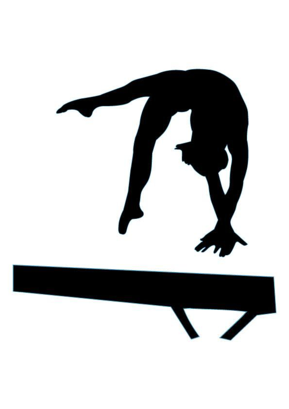 Gymnastics clipart tumbling images 10   WikiClipArt 595x842