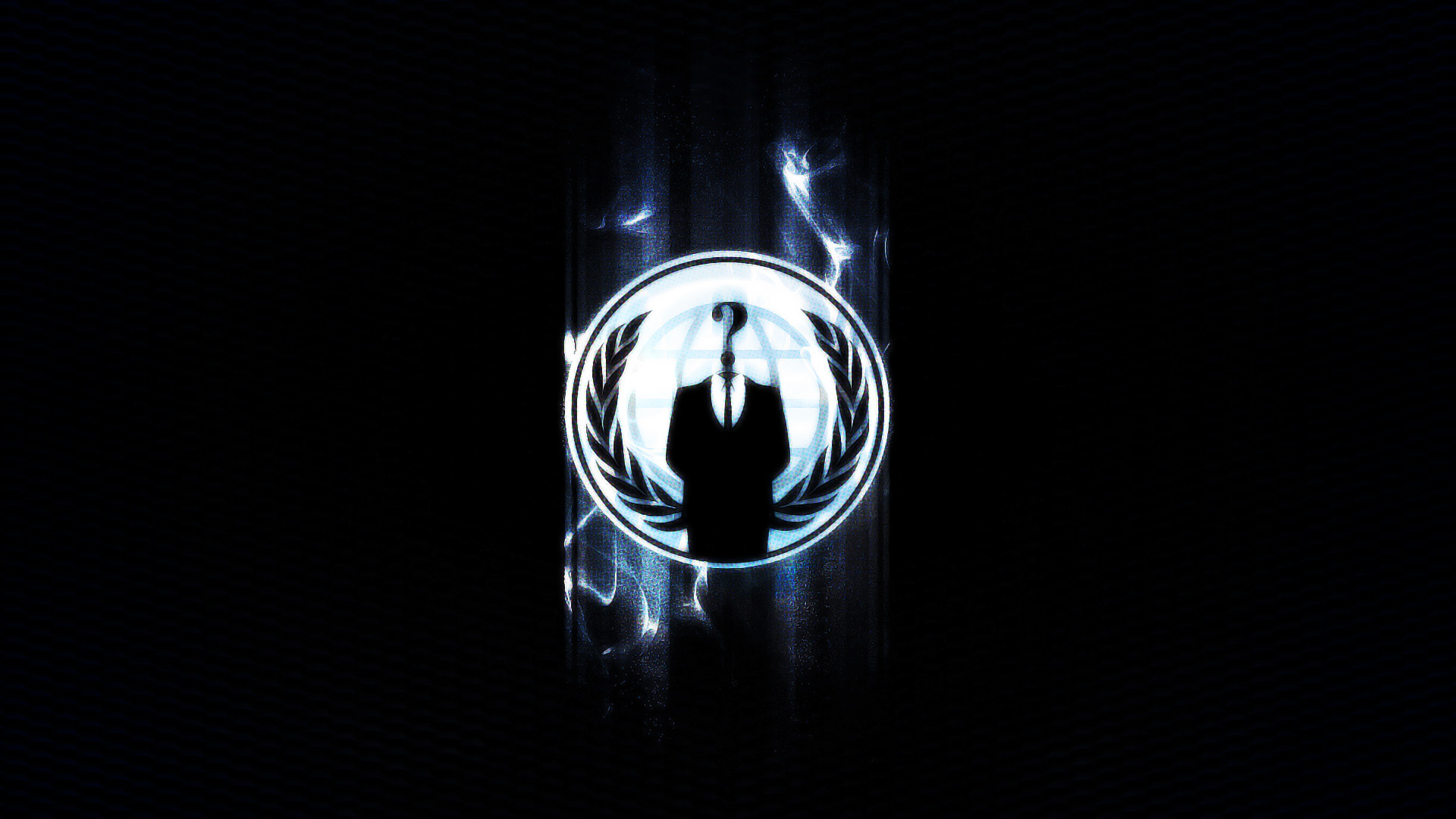 wallpapers with the Anonymous hackers clan logo enjoy this Anonymous 1920x1080