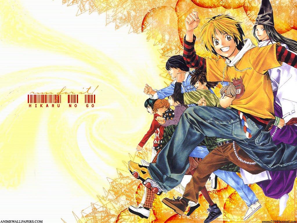 Hikaru no Go Wallpaper 1024x768