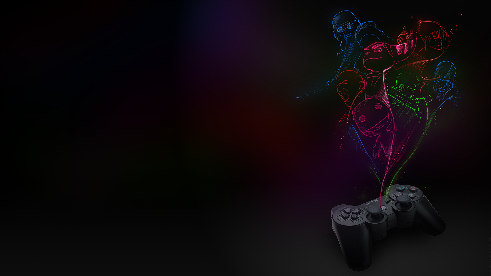 Playstation Wallpapers 1920x1080