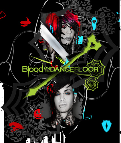 Blood On The Dance Floor wallpaper Flickr   Photo Sharing 423x500