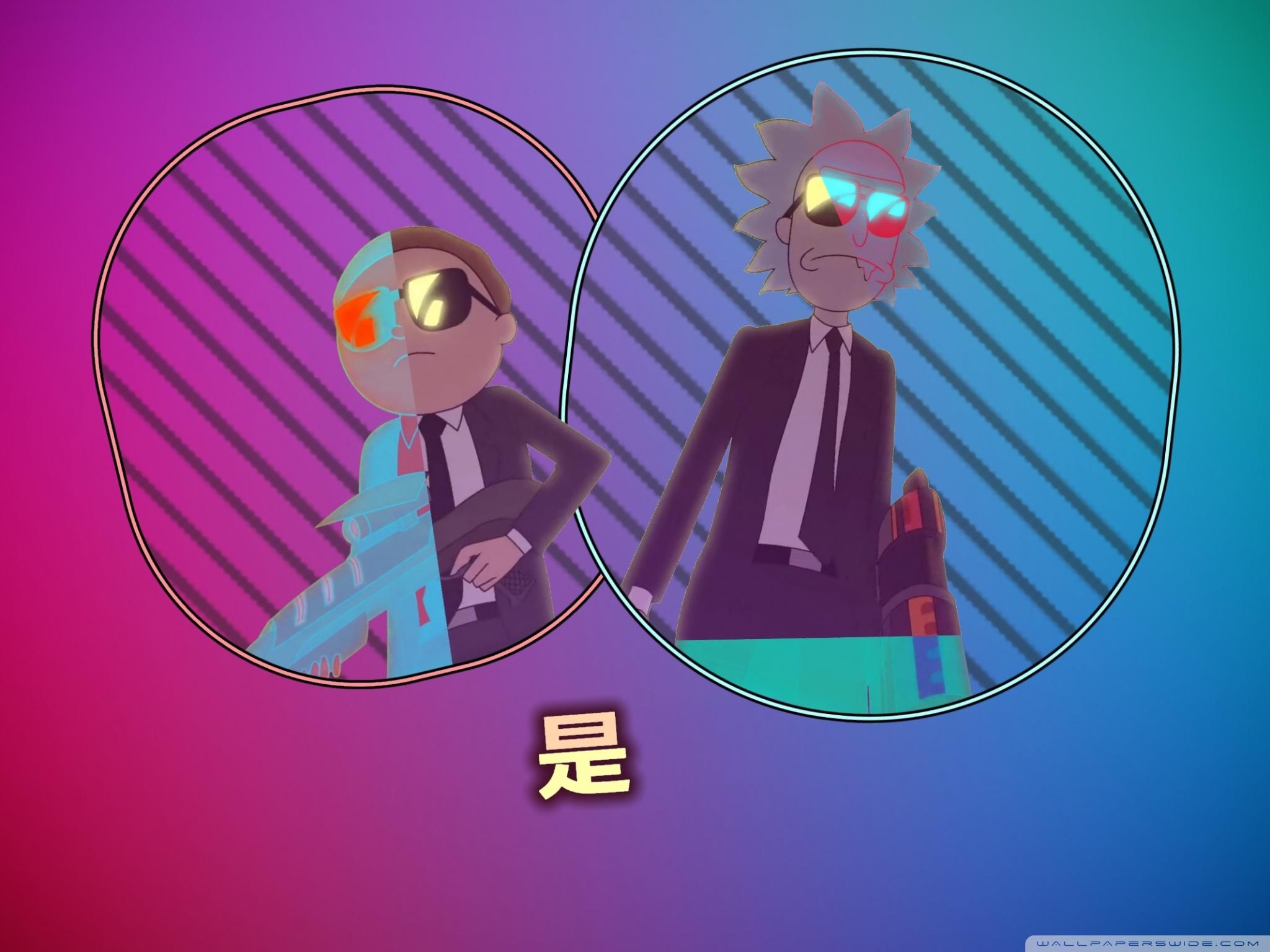 Rick And Morty Retro   2048x1536 Wallpaper   Ecopetitcat 2048x1536