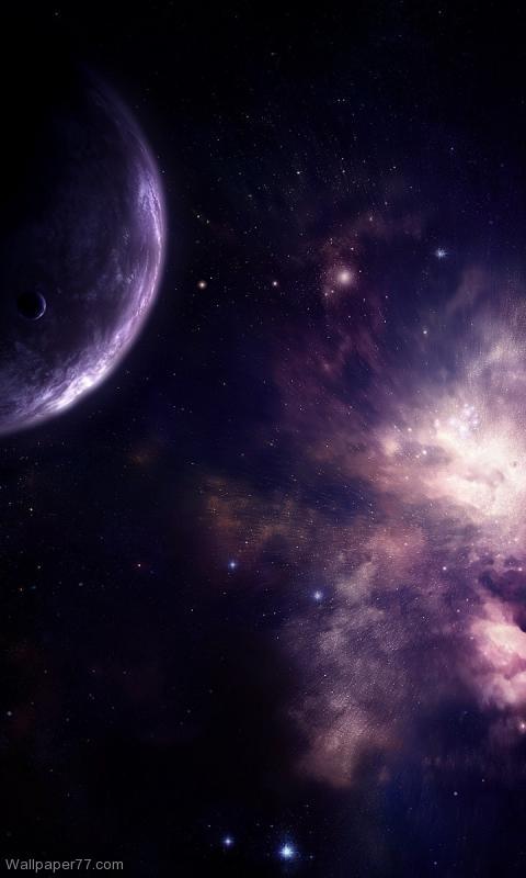 Purple Galaxy galaxy 480x800jpg 480x800