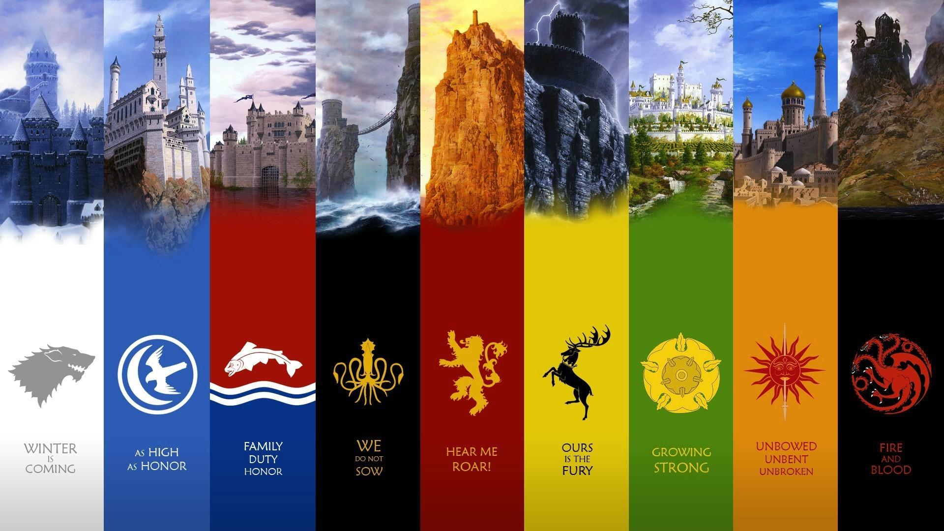 game of thrones houses high res desktop wallpaper HD wallpaper 1920x1080