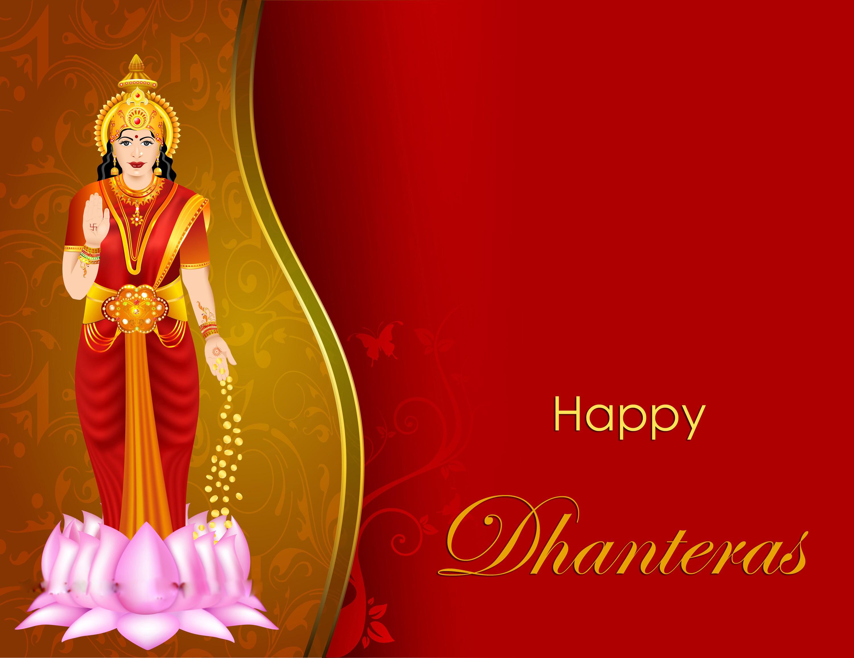 Happy Dhanteras greeting cards GIF images Dhanwantari 3000x2310