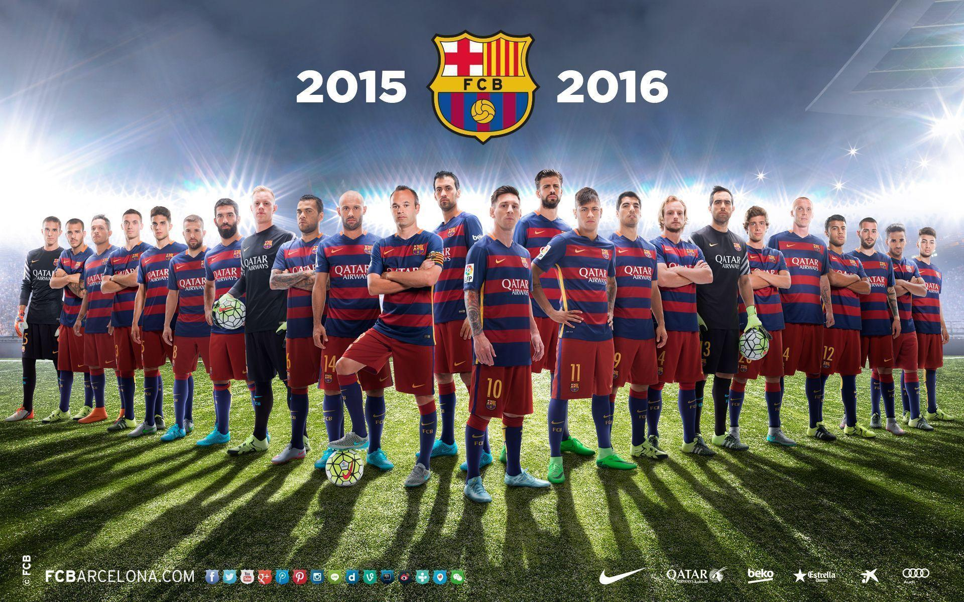 FC Barcelona Wallpapers 2016 1920x1200