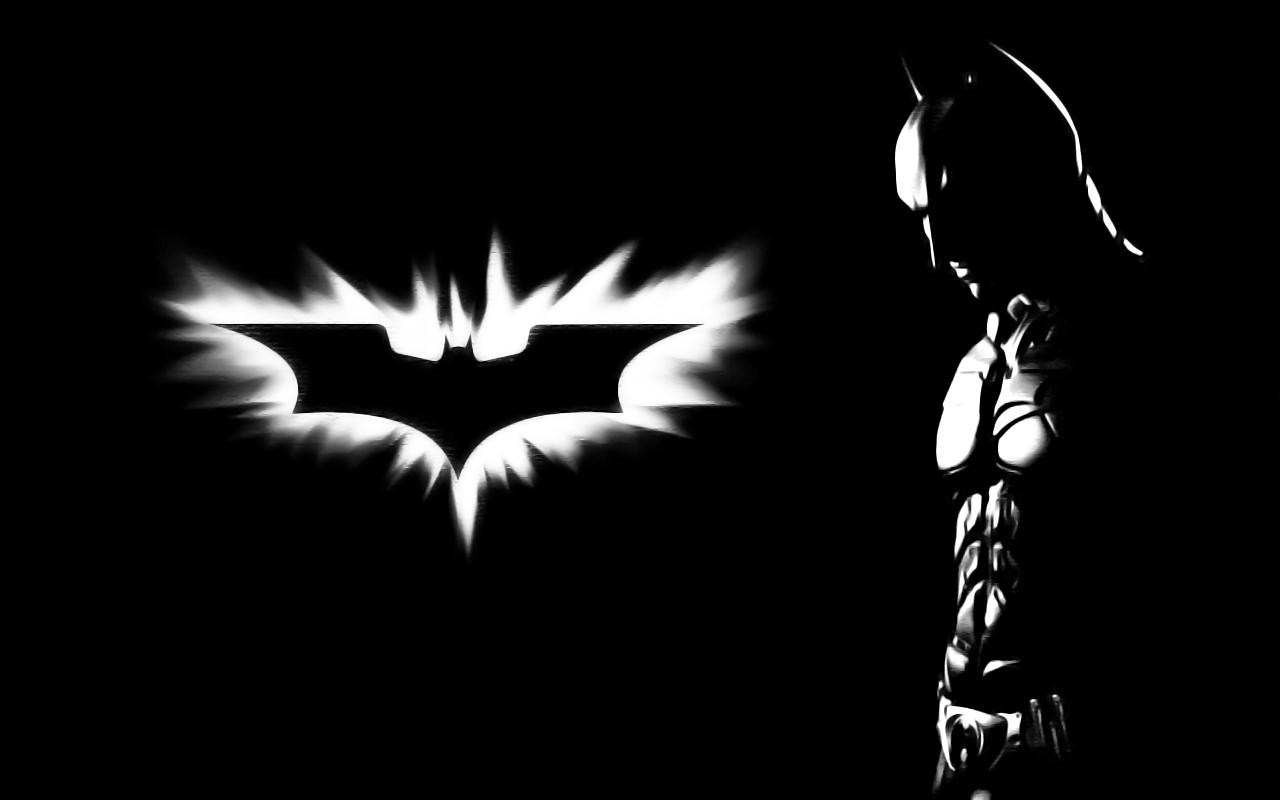 Black and White Batman Wallpaper - WallpaperSafari