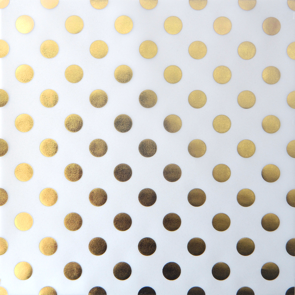 Gold Polka Dots Closeup of gold foil dots 1000x1002