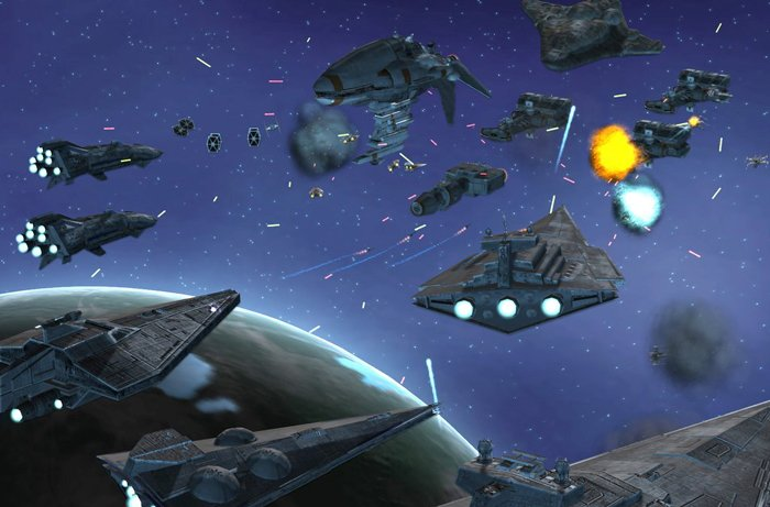 Fight epic looking battles in space with outstanding sound effects you 700x461