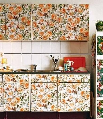 Removable Wallpaper For Kitchen Cabinet 438x506