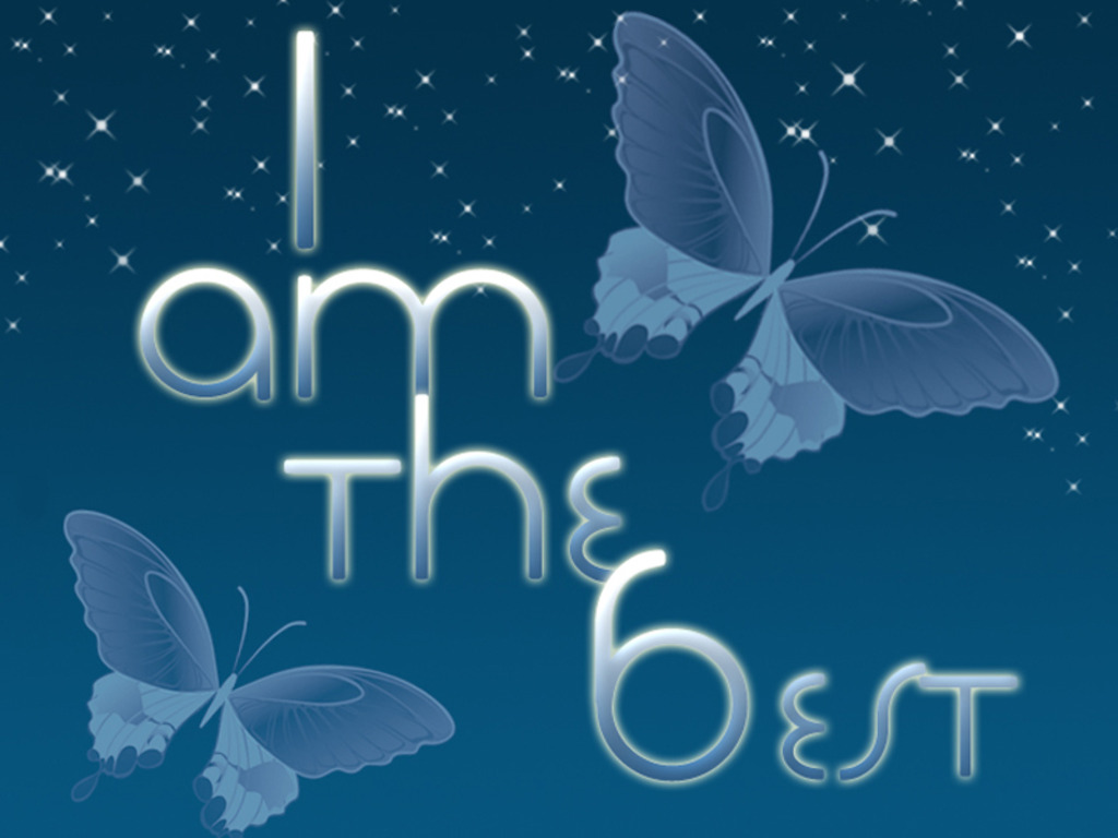 I Am Best In The World Wallpaper I Am The Best W...