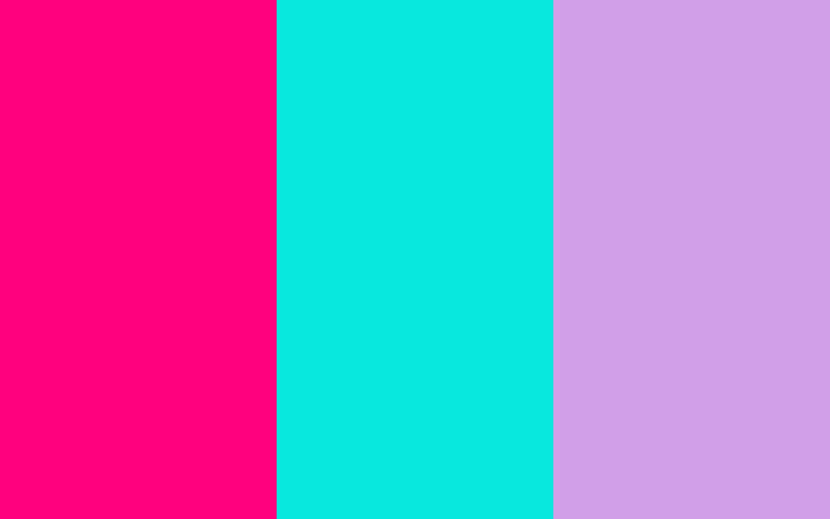 bright pink bright turquoise bright ube three color backgroundjpg 1680x1050