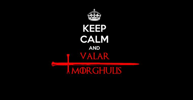 Valar Morghulis   Wallpaper   Games of Thrones   Arya 760x394