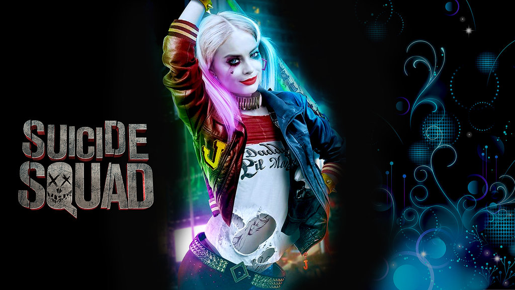 Suicide Squad   Harley Quinn Wallpaper By Ashish 1024x576