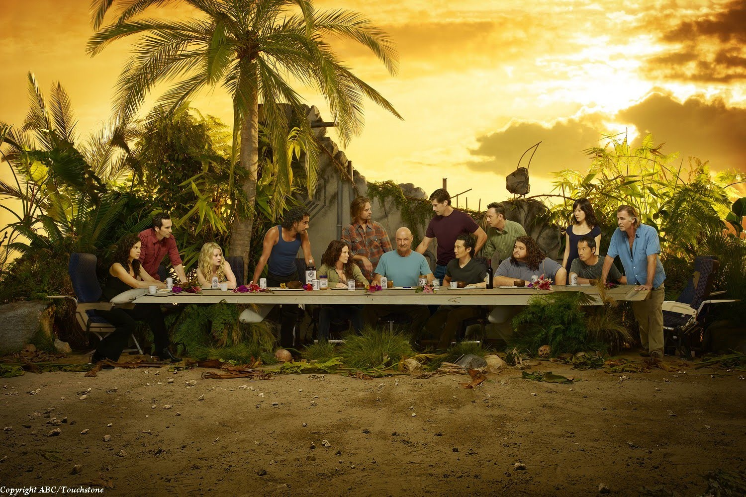 LOST   Last Supper Wallpaper 1500x1000