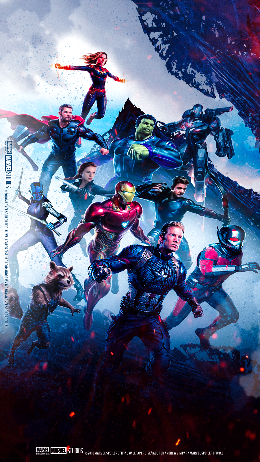 Avengers Endgame Poster Wallpaper Full Movie 2019 900x1600