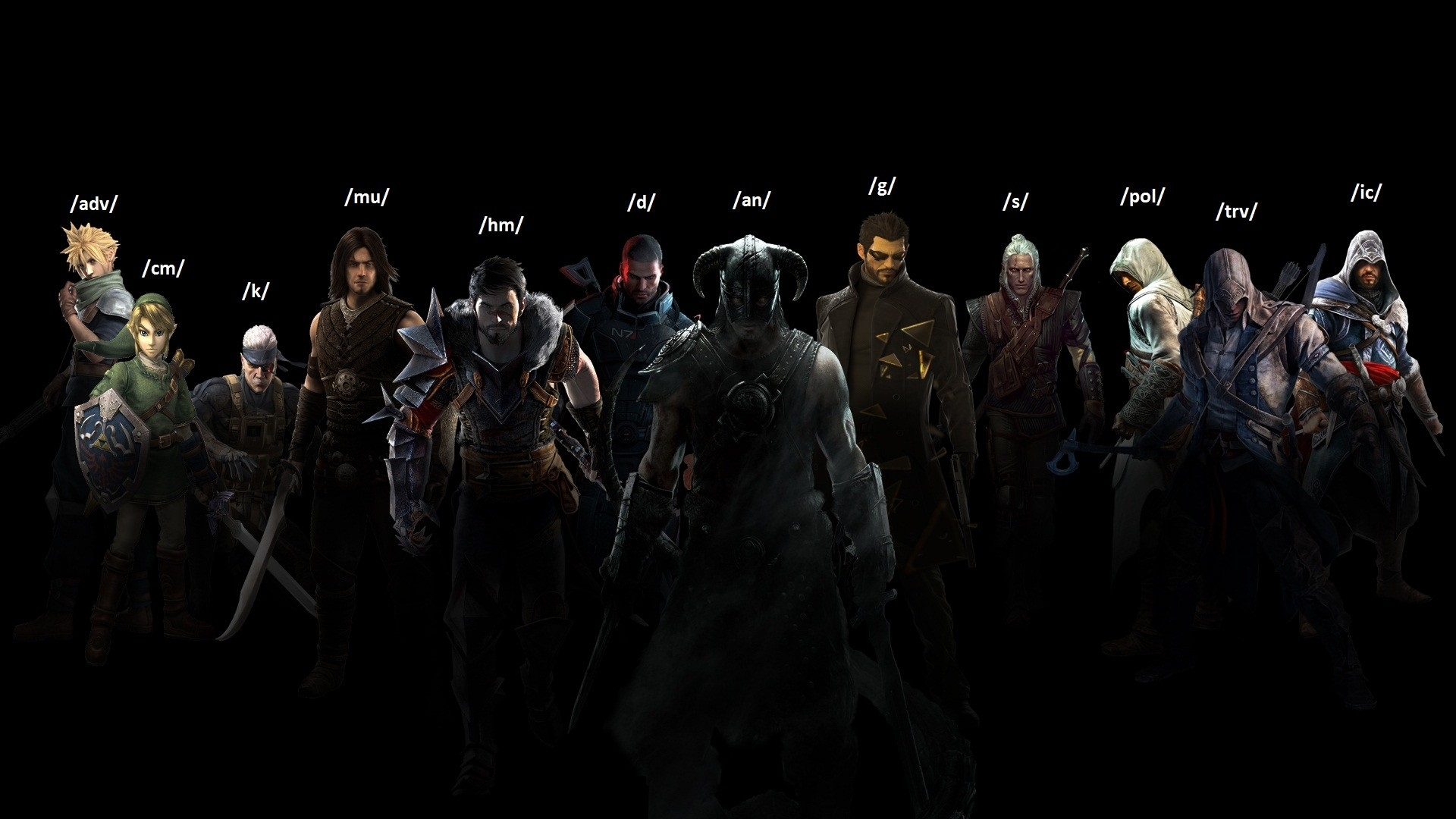 video games assassins creed the witcher prince of persia the legend of 1920x1080
