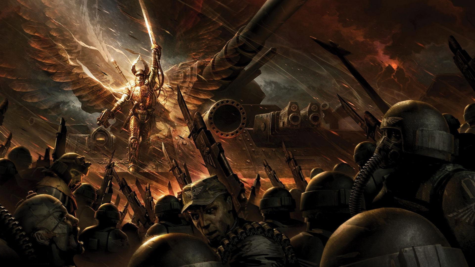 Imperial Guard   Warhammer 40000 wallpaper   1024098 1920x1080