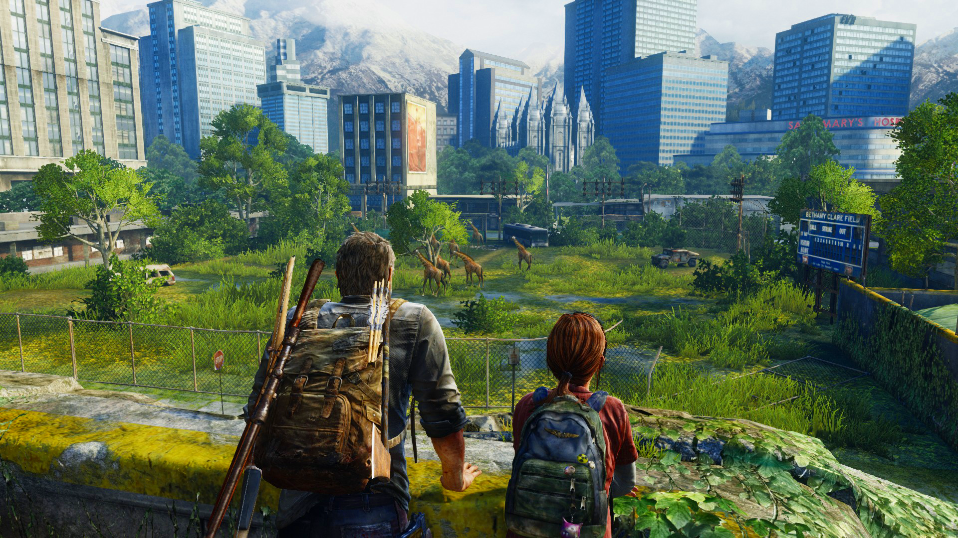 Game The Last Of Us Remastered Ps4 The Last Of Us Screenshot Wallpaper 1920x1080