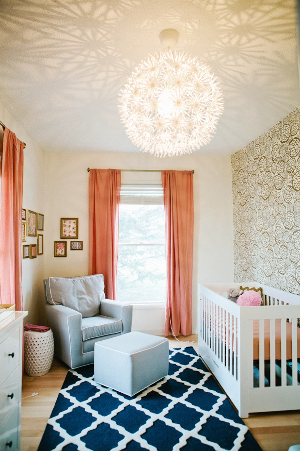 like this baby room decor A notable nursery in my book The peach 619x929