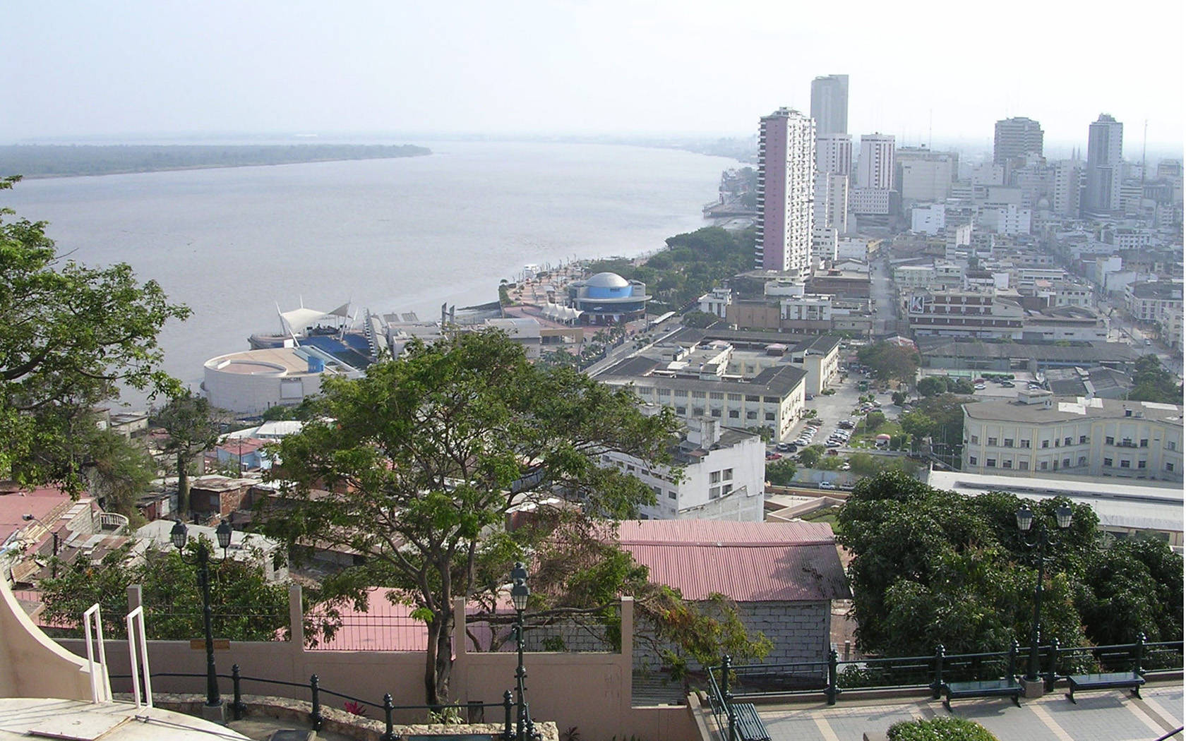 River Guayas in Santa AnaCAUSA city wallpaper 1680x1050