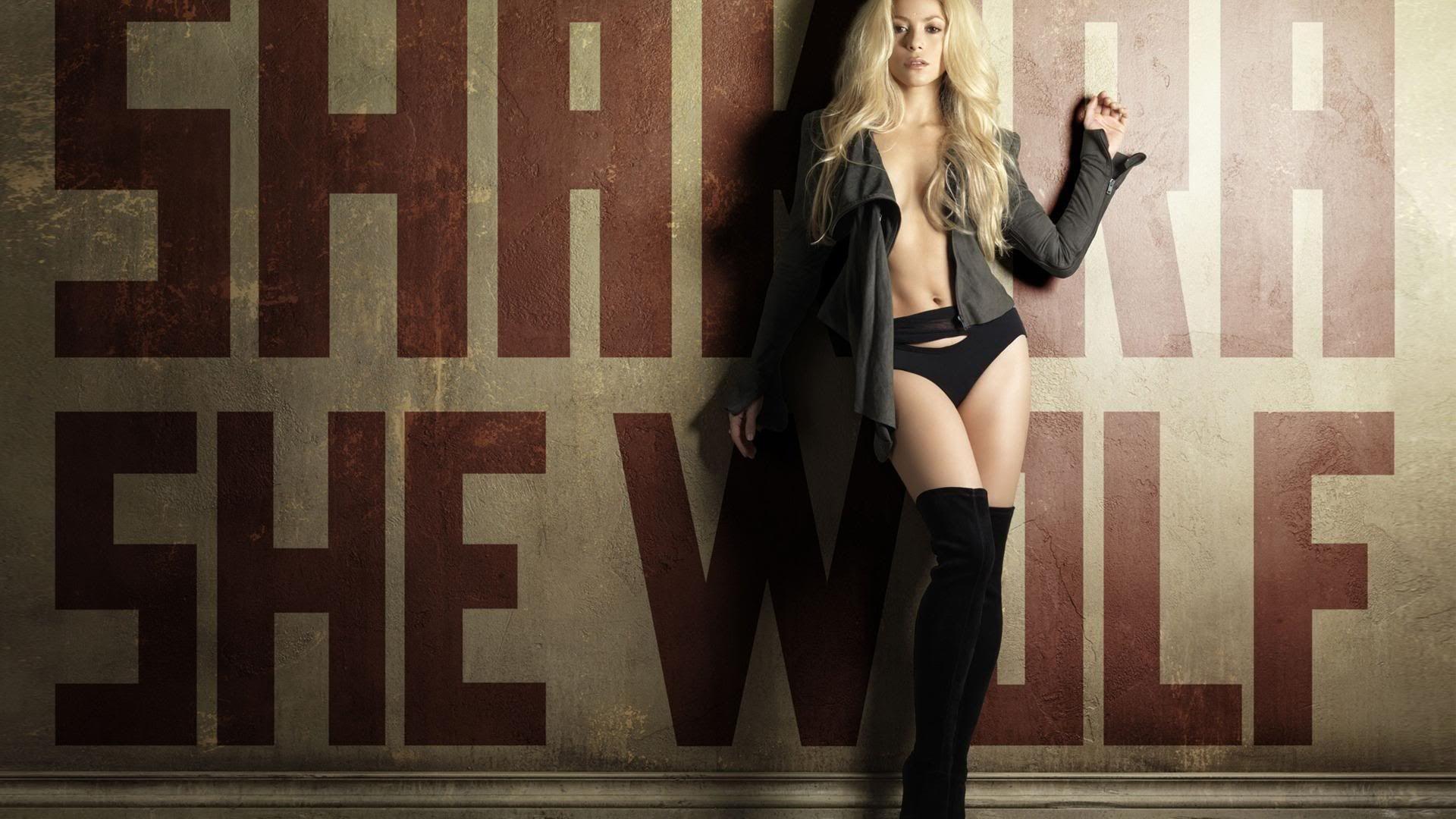 HD Wallpapers Mania Shakira She Wolf Wallpaper 1920x1080