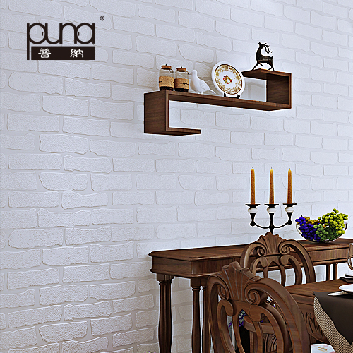 Faux Brick Wallpaper White Beige Wall Paperjpg 500x500