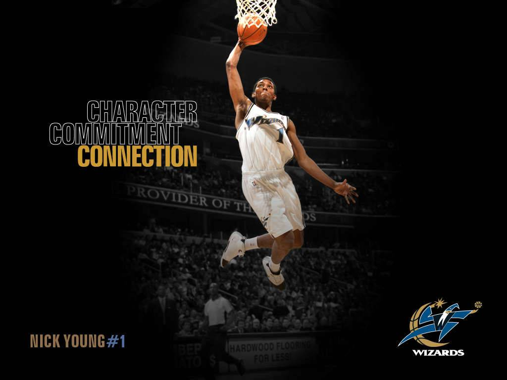 Nick Young   Washington Wizards Wallpaper 1024x768