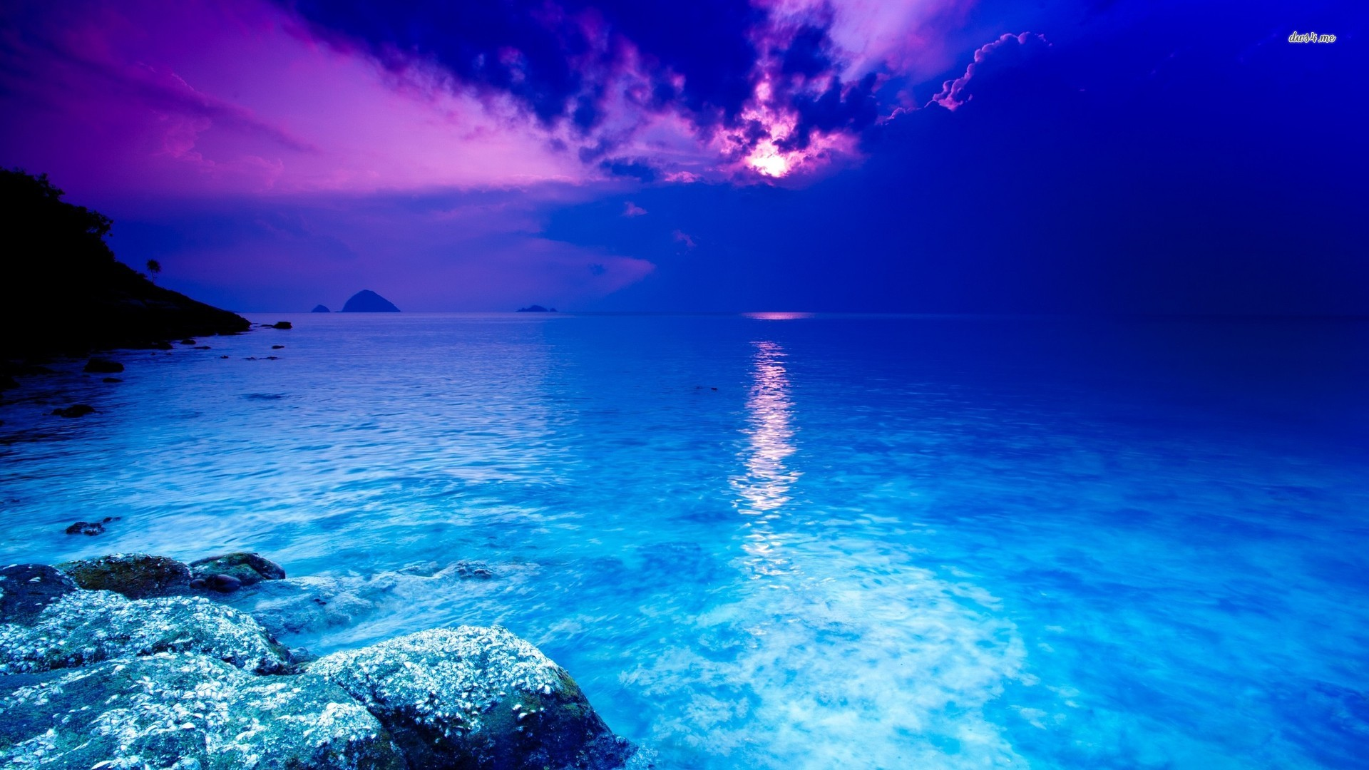 Blue ocean wallpaper   Beach wallpapers   14710 1920x1080