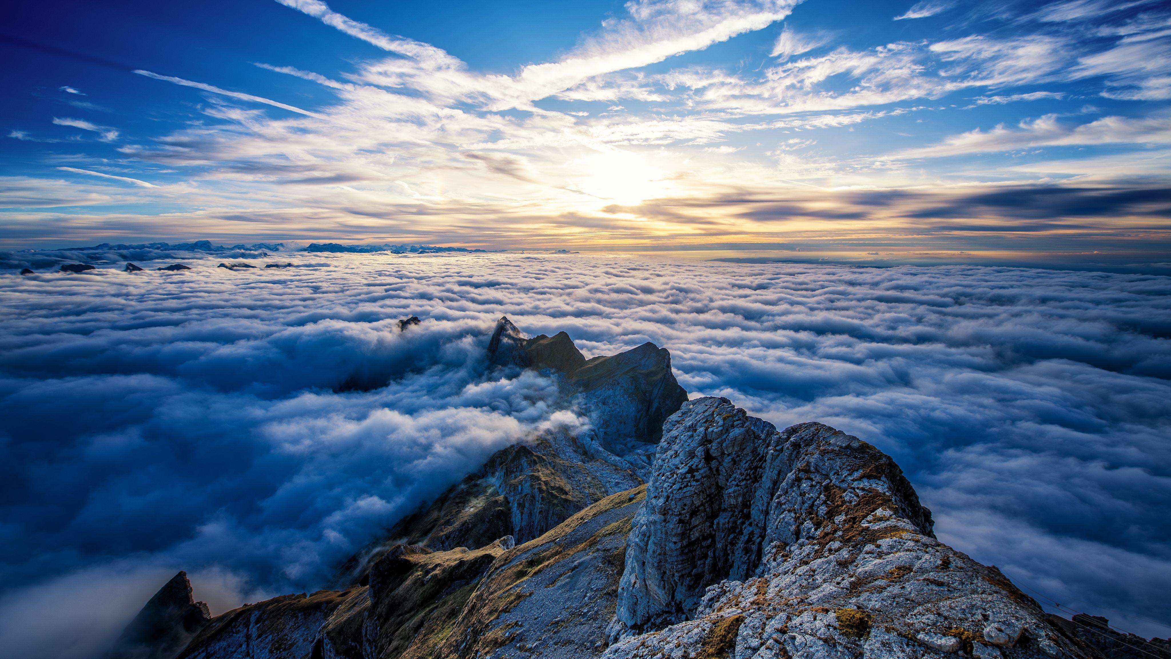 Cloud Mountain Wallpapers   Top Cloud Mountain Backgrounds 4096x2304